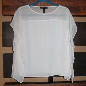 INC International concepts white blouse